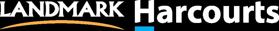 New Landmark Harcourts logo horizontal NO BACKGROUND WHITE RGB