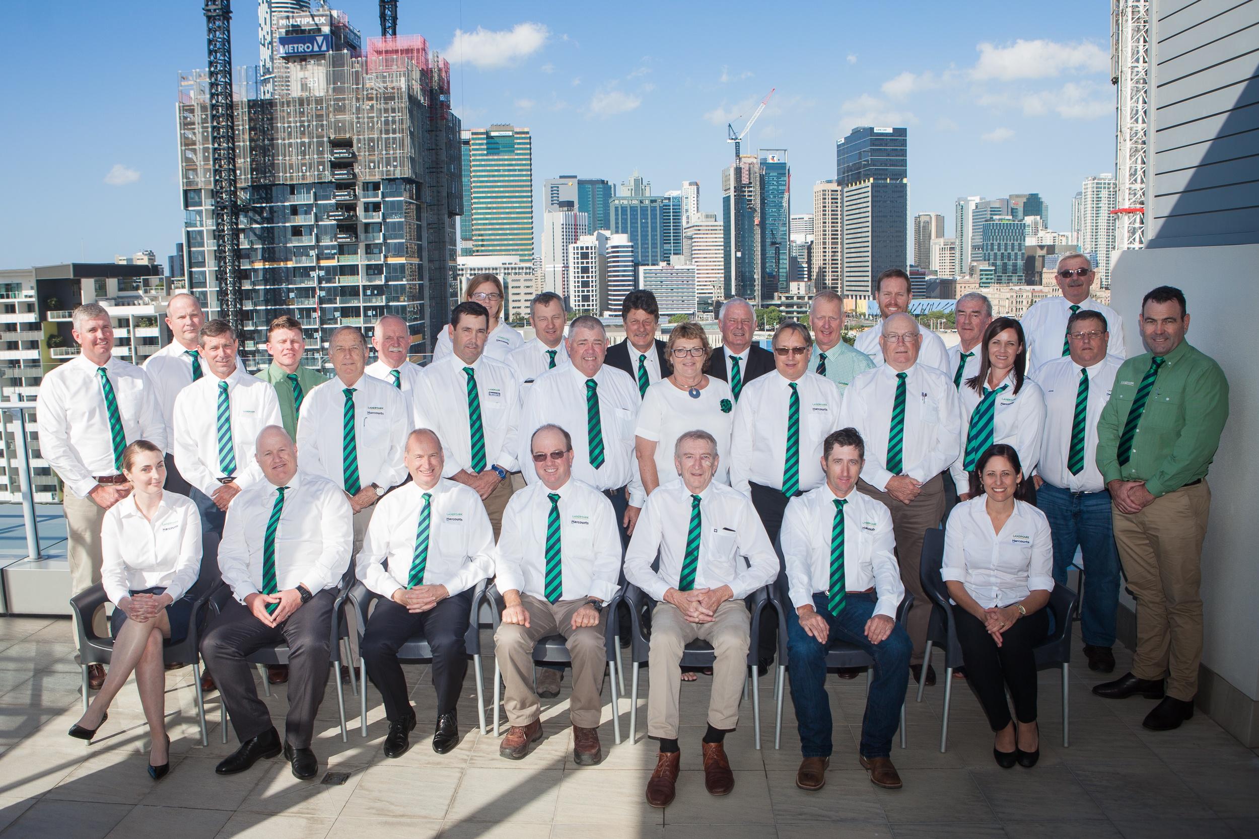 The Landmark Harcourts Queensland team