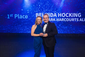 Belinda Hocking, Top Residential Sales Consultant within the Landmark Harcourts national network